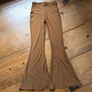 Light Brown Flare Pants